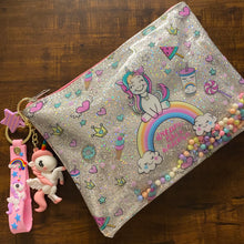 Load image into Gallery viewer, Unicorn Glitter Pouch Combo