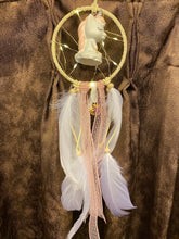 Load image into Gallery viewer, Unicorn Pastel LED dreamcatcher
