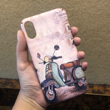 Load image into Gallery viewer, SALE : iPhone X / XS cases : vintage pink series