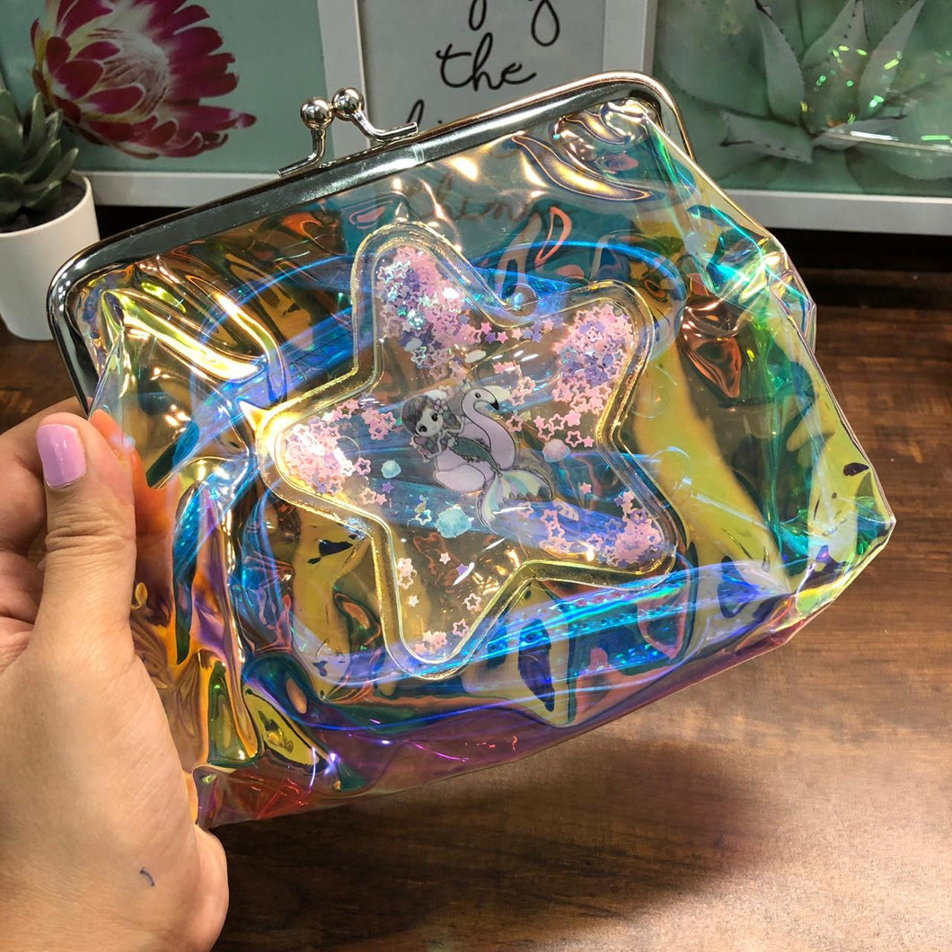 Holographic Sling Purse