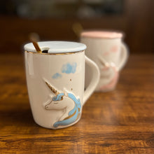Load image into Gallery viewer, New Unicorn Pastel GoldFoil Mug
