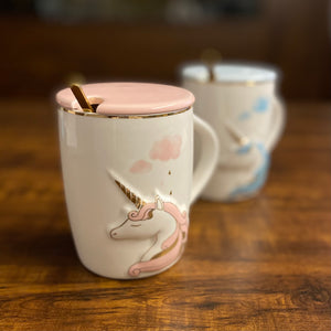 New Unicorn Pastel GoldFoil Mug