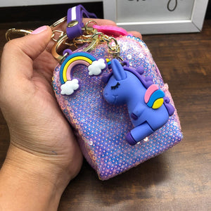 Father of Unicorn Pouch Charm