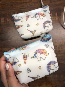 Unicorn Silicon Coin Pouch