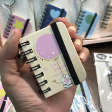 Load image into Gallery viewer, Cute Mini diary with Keyring - This Is Enough