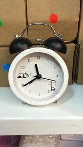 Panda Mechanical Bell Alarm Clock