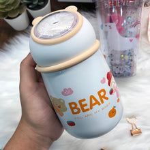 Load image into Gallery viewer, Cute Bear Thermal Flask
