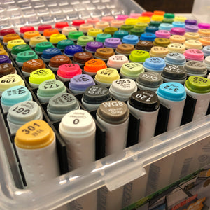 Box of 120 superior dual graphic markers