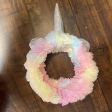 Load image into Gallery viewer, Premium Unicorn Fur Elastic Headband with Horn - sale