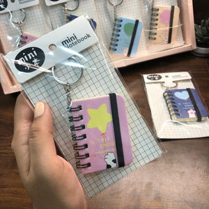 Cute Mini diary with Keyring - This Is Enough