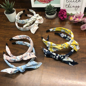 Flora Hairband - Knotted Bow