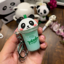 Load image into Gallery viewer, Panda Sipper key ring