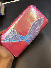 Load image into Gallery viewer, Mermaid pink wallet : display piece