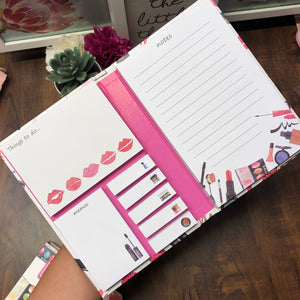 Make up sticky notes set