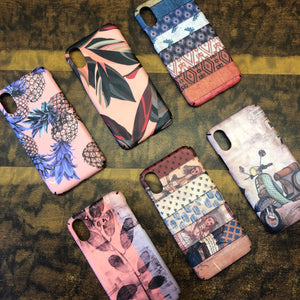SALE : iPhone X / XS cases : vintage pink series