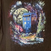 Load image into Gallery viewer, BBC Black Tardis Tee Size 3X Large