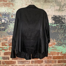 Load image into Gallery viewer, Emma James Black Blouse Size 18W