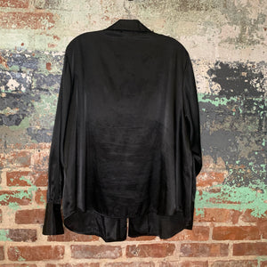 Emma James Black Blouse Size 18W