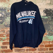 Load image into Gallery viewer, Gildan Blue Milwaukee Sweat Shirt Size X Large
