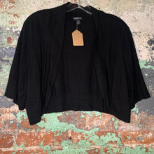 Load image into Gallery viewer, Torrid Black Shrug Size 3