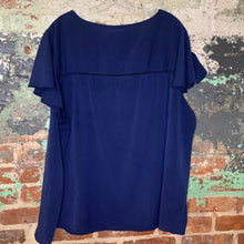 Load image into Gallery viewer, Lane Bryant Blue Blouse Size 24