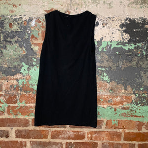 Pact Black Tank Top Size Small