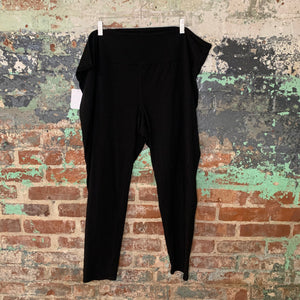 Lane Bryant Black Active Leggings Size E/F