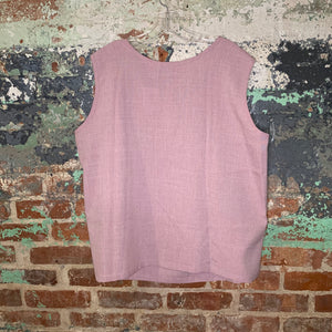 Blair Purple Tank Blouse Size 2X Large