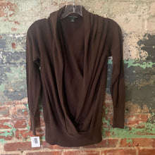 Load image into Gallery viewer, Banana Republic Brown Deep V Sweater Size Medium
