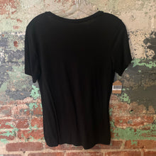 Load image into Gallery viewer, Black Zipper Pocket Tee