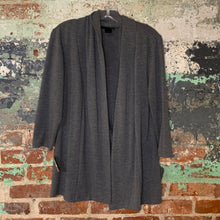 Load image into Gallery viewer, Ingredients Grey Shawl Sweater Size Medium