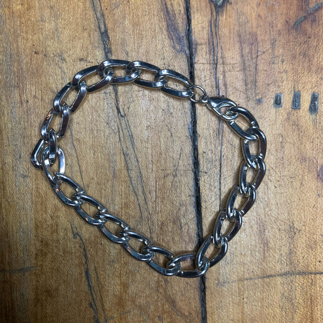 Silver Colored Link Bracelet