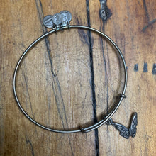 Load image into Gallery viewer, Alex and Ani Butterfly Bracelet