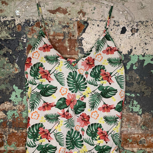 Isaac Mizrahi Floral Tank Top and Shorts Size X Small