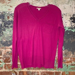 Gap Pink V Neck Sweater Size XSmall
