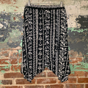 Faded Glory Black and White Skirt Size X Large