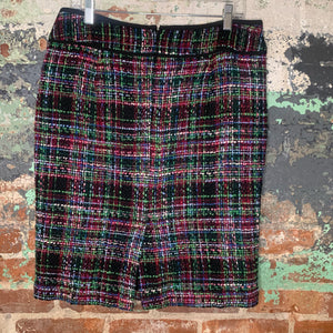 Talbots Multi-Color Skirt Size 10