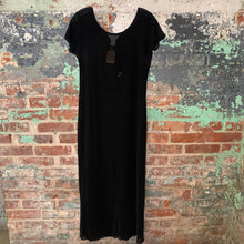 Load image into Gallery viewer, Express Black Overlay Dress Size Large