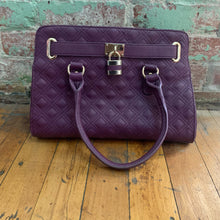 Load image into Gallery viewer, Charming Charlie Purple Handbag