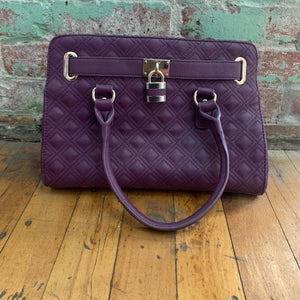Charming Charlie Purple Handbag