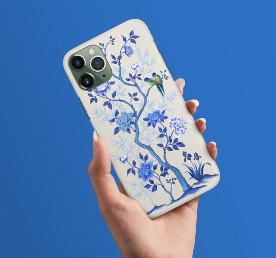 Chinoiserie Inspired Phone Covers by Artist Chris Chun