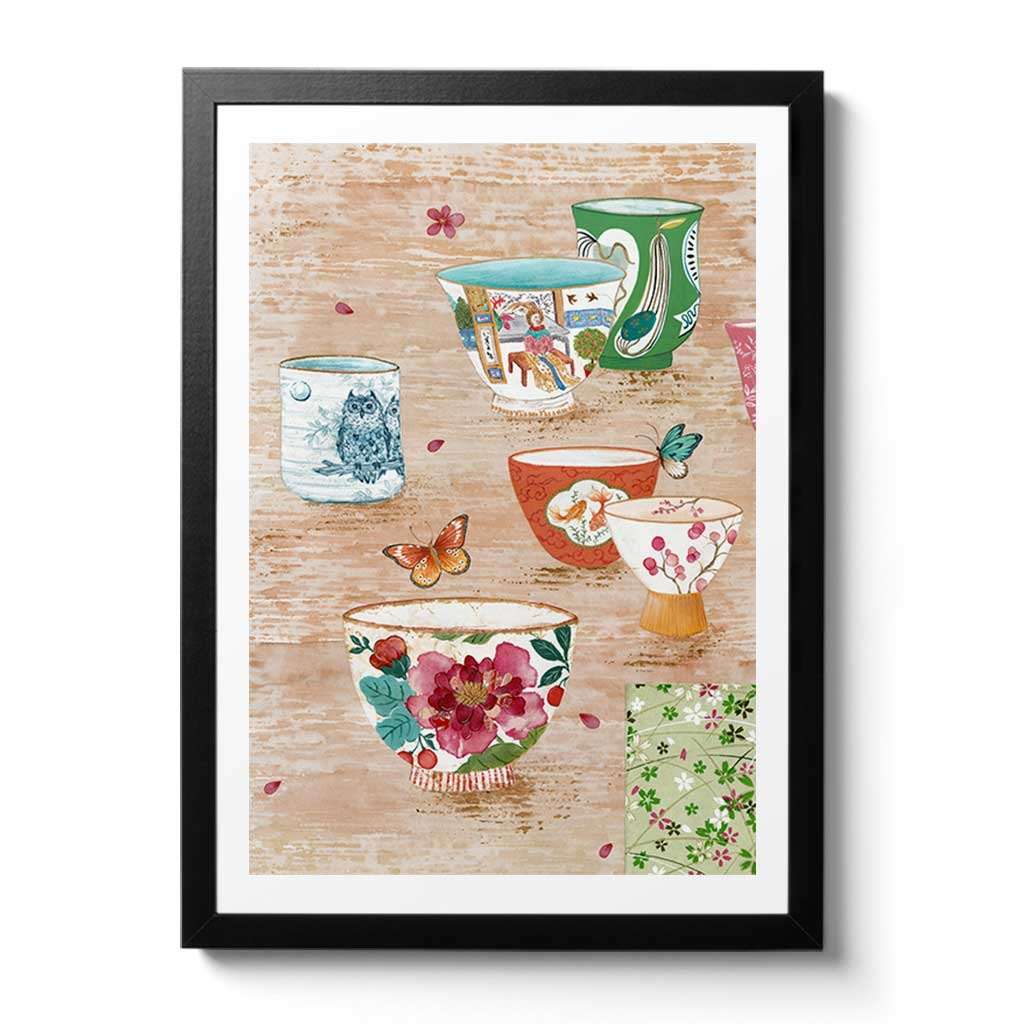 Tea Fine Art Print by Artist Chris Chun