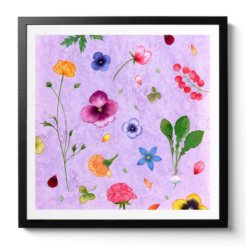 Herb Garden Fine Art Print by Artist Chris Chun