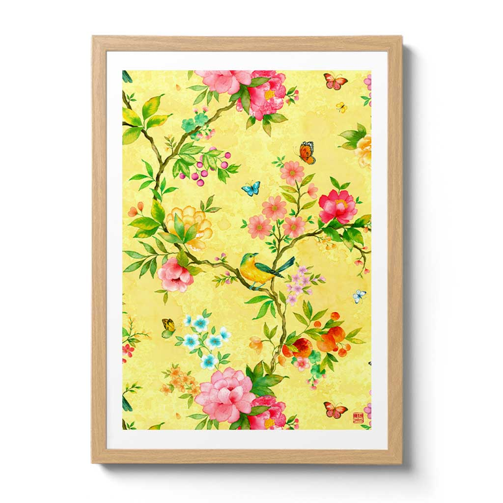 Chinoiserie inspired Fine Art Prints and Wall Art by Artist Chris Chun.