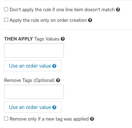 Shopify App Easy Tagging 注文 タグ付け