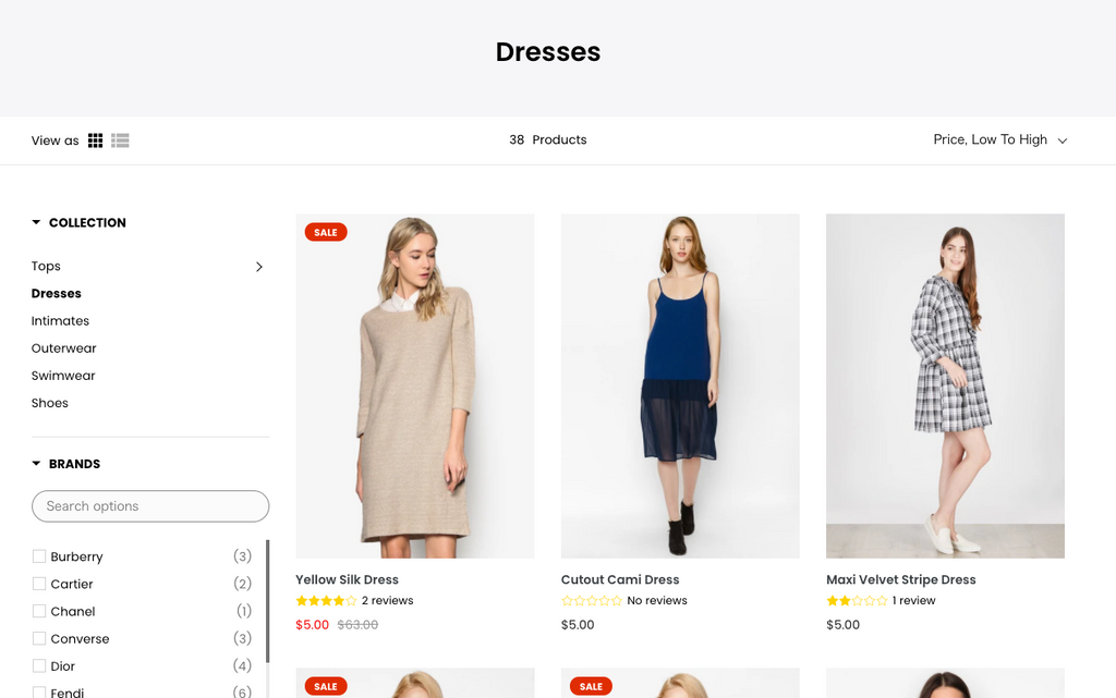 Shopify product search 検索 絞り込み機能
