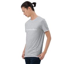 Load image into Gallery viewer, Short-Sleeve Unisex T-Shirt  #unconditionallove  white text