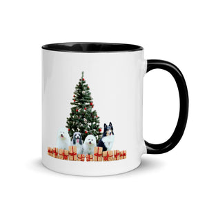 Customizable Christmas Mug with color inside