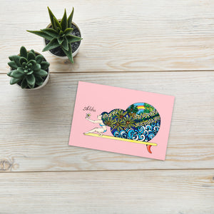 Surf's Up Postcard by little hawaii me