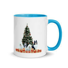 Load image into Gallery viewer, Customizable Christmas Mug with color inside